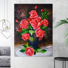 Tablou Decorativ Trandafiri FAS8