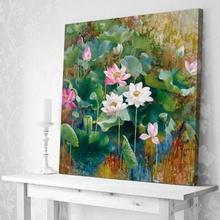 Tablou Flori de Lotus II