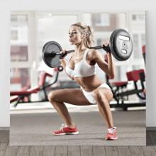 Tablou Model Fitness Feminin PFGT10