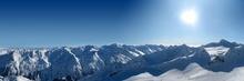 Tablou panoramic montan crb 05