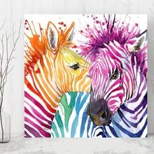 Tablou Pop Art Zebra anz23