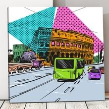 Tablou Travel Pop Art pvs1