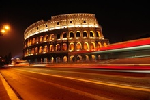 Tablou Coloseum noaptea 01