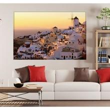Tablou Peisaj Apus Grecia gr1