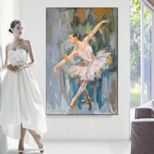 Tablou Canvas Balerina OPO70