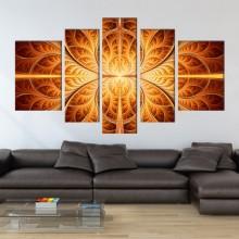 Multicanvas Abstract Fractal Art ASR6