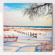 Tablou Canvas Peisaj de Iarna BPC31
