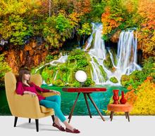 Fototapet Peisaj fabulos cu cascada FWBS5