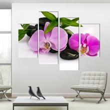 Multicanvas Orhidee cu Pietre Vulcanice FORST1