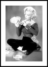 Poster inramat Marilyn Monroe 3