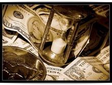 Poster timpul inseamna bani 02