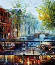 Reproducere Leonid Afremov - Amsterdam