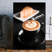 Tablou Canvas Cafea Cu Prajitura COF48