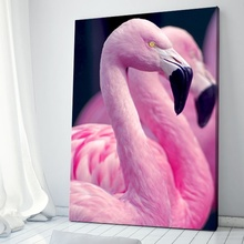 Tablou Canvas Flamingo Roz