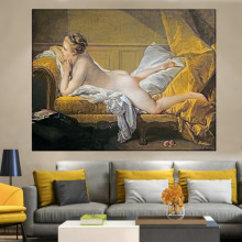 Tablou Canvas Francois Boucher Marie-Louise O'Murphy RFB2