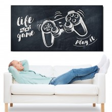 Tablou Canvas Joystick, Life Is A Game AMGR1