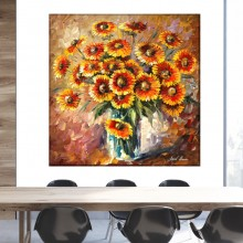 Tablou canvas Leonid Afremov - Sunny Love