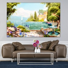 Tablou Canvas Peisaj Provensal DIF22