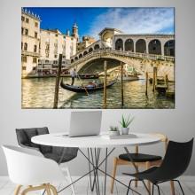 Tablou Canvas Podul Rialto Venetia IVE31
