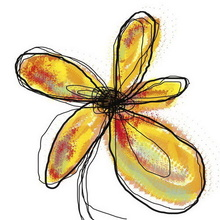 Tablou Edition Yellow Flower