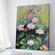 Tablou Flori de Lotus III