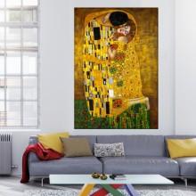 Tablou Gustav Klimt, Sarutul