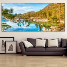 Tablou Panoramic Reflexii de Munte