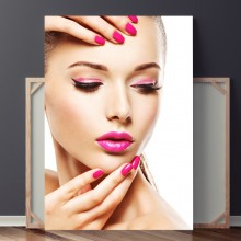 Tablou Pink Make-up and Nails GFA14