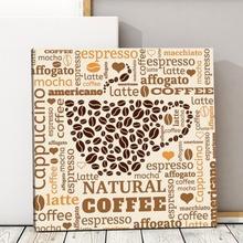Tablou Text Artistic Cafea