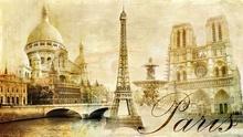 Tablou Vintage Paris