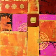 Tablou canvas abstract happy color 05