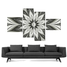 Multicanvas abstract flori digitale tfad49