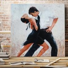 Tablou Canvas In pasi de dans