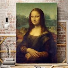 Tablou Mona Lisa (Gioconda), de Leonardo da Vinci DAV3