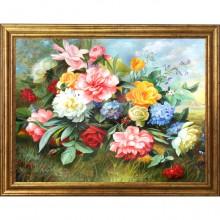 Tablou Buchet de Flori, Canvas+Rama OPJ12