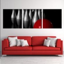 Multicanvas  Popice cu Minge de Bowling Rosie MD4