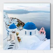 Tablou Canvas Vedere Santorini, Grecia GR48