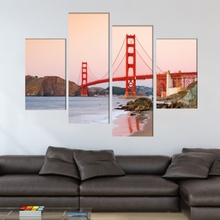 Multicanvas Golden Gate USA tusa20