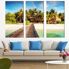 Multicanvas Ponton Plaja Tropicala