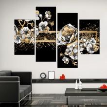 Multicanvas Premium Flori Aurii MCPL1