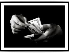 Poster inramat bani 02