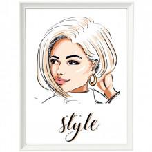 Poster + Rama Schita Beauty Hair Style ILF12C