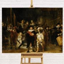 Reproducere Rembrandt, Rondul de Noapte, RBC4