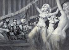 Tablou canvas 29 Dansatoare harem