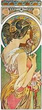 Tablou canvas Alphonse Mucha 025