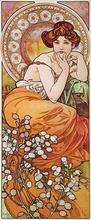 Tablou canvas Alphonse Mucha 031