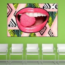 Tablou Canvas Dinti Albi In Jungla Urbana CSD12