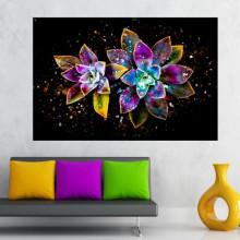Tablou Canvas Flori Digitale CFB35