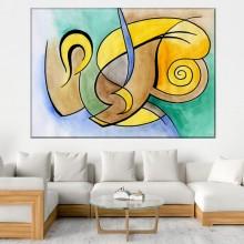 Tablou Canvas Forme Abstracte AFAS22