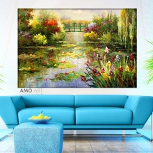 Tablou Canvas Gradina Lui Monet RMO1